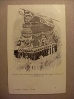 Cartolina Catafalco Eretto Nel Duomo Di Milano Per Gli Uffici Funebri A UMBERTO I 1900 - Funerali