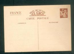 Carte Postale Correspondance Militaire Entier Postal  Iris Sans Valeur - Entiers Postaux