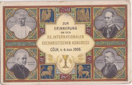 Zur Erinnerung Anden XX Internationalen Eucharistischen Kongress - CÖLN, 4-8 1909 - Religieux - Enluminure - Koeln