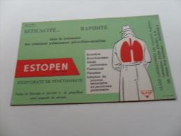 ANCIEN BUVARD / PUB  MEDICAMENT  ESTOPEN - Papeterie