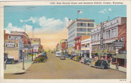 Wyoming Casper East Second Street Business District 1946