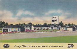 Washington Vancouver Pacific Motel 1950 - Vancouver