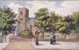 WALTHAMSTOW - ST MARYS CHURCH .  TUCK OILETTE  7255 - London Suburbs
