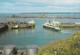 JERSEY - ST HELIER- THE  HARBOUR. - Jersey