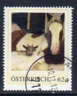 Österreich, Personalierte Briefmarken,  Pferde,  Gestempelt, Siehe Scan. - Personalisierte Briefmarken