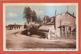 D77 - BOURRON MARLOTTE - PLACE DE LA GARE - CAFE HOTEL RESTAURANT PLACE DE LA GARE MAISON M. SIMON- état Voir Descriptif - France