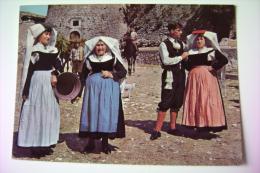ABRUZZO    PESCOCOSTANZO  COSTUME  ABRUZZO  AQUILA  NON  VIAGGIATA  COME DA FOTO - Costumi