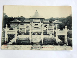 Carte Postale Ancienne : Chine : PEKIN : Temple De La Nature - China