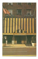 Cp, Commerce, Hotel DTudor (New-York - USA), écrite - Commerce