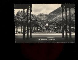 MONTREUX Vaud Suisse : Le Jardin Anglais 1951 - VD Vaud