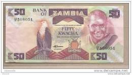 Zambia - Banconota Circolata Da 50 Kwacha - Zambia