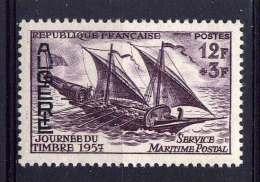 ALGERIE - N° 342* - JOURNEE DU TIMBRE / FELOUQUE - Algeria (1924-1962)