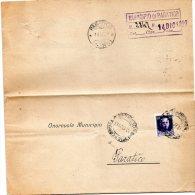 1929 LETTERA CON ANNULLO BRESCIA + PARATICO - 1900-44 Victor Emmanuel III
