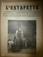 Rare 1896 L´ESTAFETTE :Massacre De La Mission Morès ; Agassiz; CUBA ; Bataille Cassel; Grav. PÊCHE à La LIGNE ;Doullens - 1850 - 1899