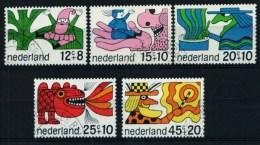 Nederland 1968, NVPH 912/916, Mi. 905/909, Yv. 877/881 - 1949-1980 (Juliana)