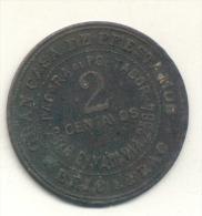 BRIC & BRAC S.A. - CASA DE PRESTAMOS 2 CENTAVOS - BRIC AND BRACK ANTICIPA DINERO SOBE ALHAJAS MUEBLES ARMAS 1900s ARGENT - Monetary /of Necessity
