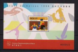 MACAO, MACAU , HB 37**, AÑO 1996, JUEGOS OLÍMPICOS ATLANTA 96, BOXEO, BOXING - Verano 1996: Atlanta