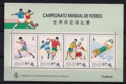 MACAO, MACAU , HB 26**, AÑO 1994, FÚTBOL, CAMPEONATO DEL MUNDO ESTADOS UNIDOS 94 - 1994 – Verenigde Staten