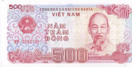 VIETNAM - 500 Dong 1988 - UNC Pick 101 - Vietnam
