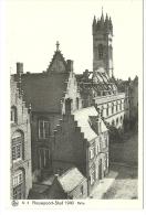 NIEUWPOORT STAD 1940 LES HALLES - Nieuwpoort