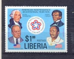 Liberia 1976, Dollar, Minr 1014 MNH. Cv 1,80 Euro - Liberia