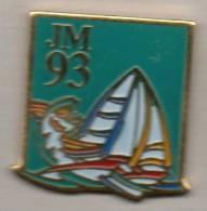Voile  Aux Jeux Méditerranéens De 1993 - Zeilen