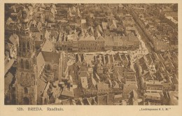 Breda - Raadhuis - Luchtopname KLM  (FJ-071 - Breda