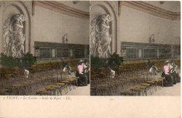 03. Vichy. Le Casino. Salle De Repos - Cartes Stéréoscopiques