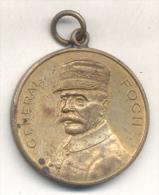 GENERAL FOCH 1918 - COMITE DES JEUNES FILLES FRANCAISES - L'ARGENTINE RARISIME MEDAILLE Sold As Is - Firma's