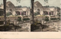 03. Vichy. Le Casino - Cartes Stéréoscopiques