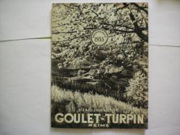 GOULET TURPIN REIMS CATALOGUE PRINTEMPS 1935  32 PAGES - Publicités