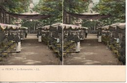 03. Vichy. La Restauration - Cartes Stéréoscopiques