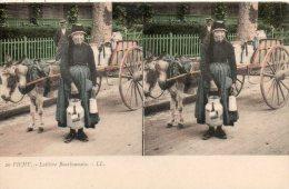 03.  Vichy. Laitiere Bourbonnaise - Cartes Stéréoscopiques