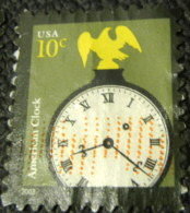 United States 2003 American Clock 10c - Used - United States