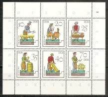 DDR 1982 - Yvert #2404/09 - MNH ** - [6] República Democrática