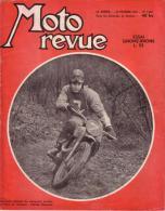 MOTO REVUE - N° 1227 - 26 FEVRIER 1955 - ESSAI GNOME RHONE L 53 - MOTO RUSSE DKW 350 - Auto/Moto