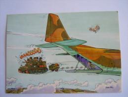 België Belgique Humor Soldats Avion Char Soldaten Tank Vliegtuig Jean-Pol - Humorísticas