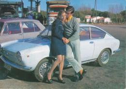 FIAT 850 Coupe ,Yugoslavia,  Vintage Old Postcard - Turismo