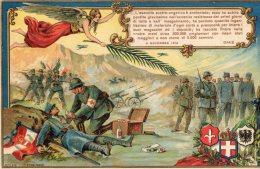 [DC8616] RICORDO DELLA GRANDE VITTORIA CONTRO L'ESERCITO AUSTRO-UNGARICO - 4 NOVEMBRE 1918 - VIAGGIATA 1931 - Storia