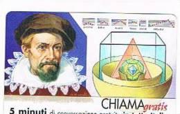 CHIAMAGRATIS - 120 PERSONAGGI PER IL PROGRESSO DELL' UMANITA'(64):  GIOVANNI KEPLERO     - NUOVA  (RIF.CP) - Italy