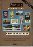 NEUDIN 1984 - CATALOGUE ARGUS De RECENSEMENT REGIONAL DE CARTE POSTALE - OFFICIEL INTERNATIONAL - Books
