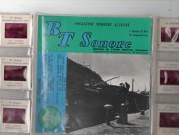 EN PENICHE DE GIVET A DUISBOURG ( Diapositives / Disque 45 T ) EDITIONS ECOLE MODERNE FRANCAISES - Boats