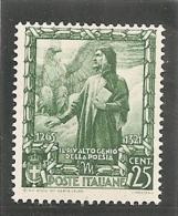 ITALIA 1938 * - 1900-44 Victor Emmanuel III