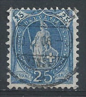 MM-/-305-. ZUMSTEIN N° 67C, Obl., DENT 11 ½ X 11 , Cote 6.50 € -  Je Liquide - 1882-1906 Coat Of Arms, Standing Helvetia & UPU