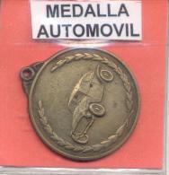 MEDALLA AUTOMOVIL AUTOMOBILE CIRCA 1945 L'ARGENTINE RARE - Professionals/Firms