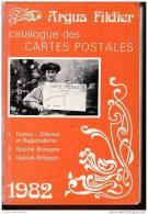 ARGUS FILDIER 1982 Catalogue CARTES POSTALES France: THEMES REGIONALISME, SPECIAL BRETAGNE Et BELGIQUE - Livres