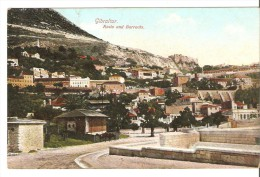 Gibraltar-rosia And Barracks-1911 - Gibraltar