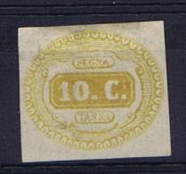 Italy Segnatasse 1863 Sa Nr 1 Not Used (*) - 1861-78 Victor Emmanuel II.
