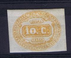 Italy Segnatasse 1863 Sa Nr 1 MH/* - Taxe