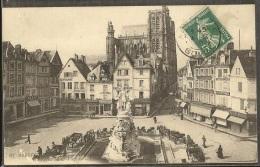 - CPA 80 - Amiens, Place De L'amiral Courbet - Amiens